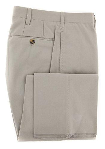 cesare-attolini-beige-solid-pants-slim-38-54