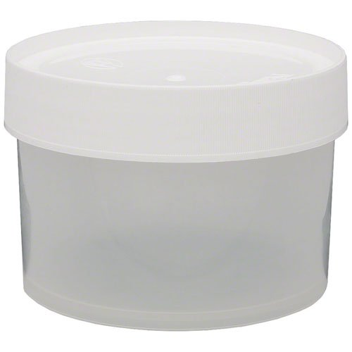Nalgene Polypropylene Wide-Mouth Jar, 16 (Nalgene Clear Jar)