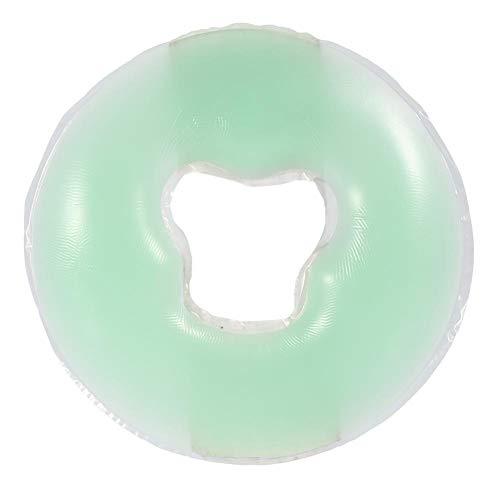 宿泊施設つづり不誠実シリコン枕ソフトマッサージ顔リラックス枕(薄緑)