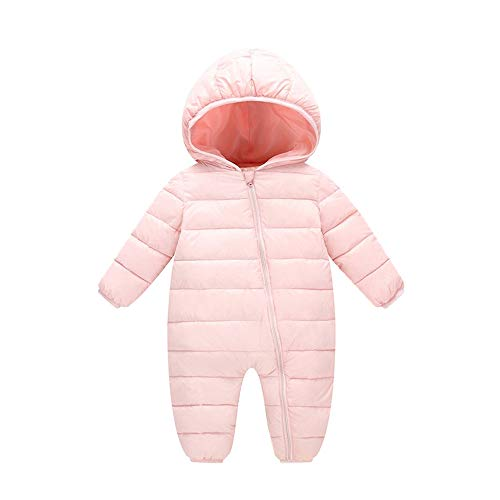 VEKDONE Baby Boys Girls Kids Rompers Winter Thick Cotton Warm Clothes Jumpsuit -