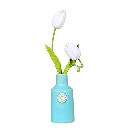 JinyidianShop-Decoracion y emulación de alto KIT DE FLORES FLORES ARTIFICIALES flores decorado