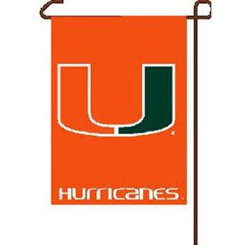 NCAA Miami Hurricanes Garden Flag, 11