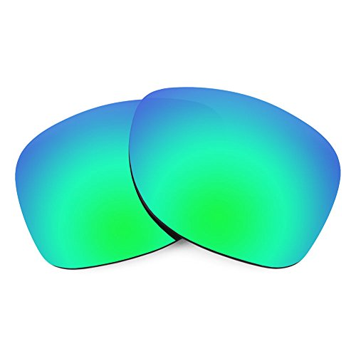 Verres de rechange pour Smith Wayward — Plusieurs options Vert Emeraude MirrorShield® - Polarisés