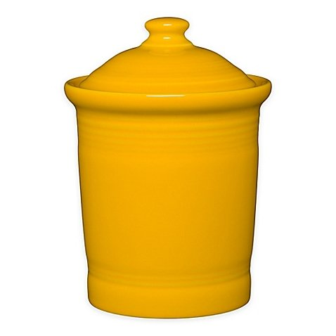 Homer Laughlin 572-342 2 Quart Medium Canister, Daffodil by Homer Laughlin