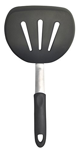 Round Turner (Unicook Flexible Silicone Round Pancake Turner, Spatula, 600F Heat Resistant, Ideal for Flipping Pancakes, Burgers and More, BPA Free, FDA Approved and LFGB Certified)