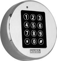 Kaba Mas LCMXCRBN70MA4DO Metal Electronic Safe Lock