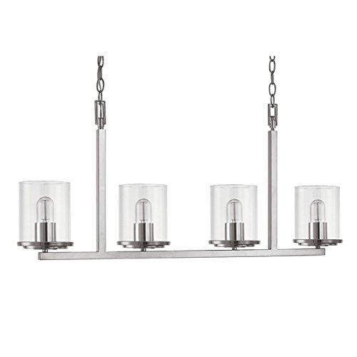 Austin Allen & Company Sloan Collection 4-light Polished Nickel Island Light