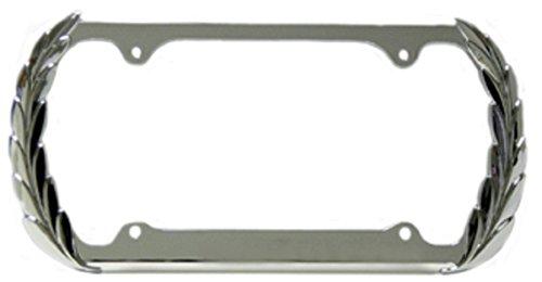 - Chrome Wreath License Plate Frame