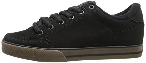 C1RCA Men's AL50 Skate Shoe, Black/Gum, 12 M US