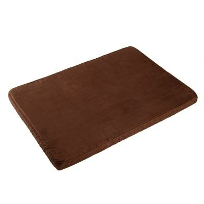 Perro colchón Suede- marrón, saludable perro de piel sintética cama con espuma viscoelástica ofrece la máxima ...