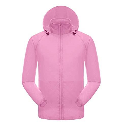 Mantello Brillante Manica Maniche Sottile Elastico Autunno Outwear Facile Solare Colore Giovane Moda Coreana Glamorous Pink Collo Cappuccio Donna Protezione Trench Lunga Con Elegante Semplice w7w6Sx1q