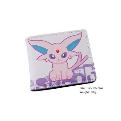 6f6a733aa6ad Portefeuille Homme Femme Maroquinerie Cuir Porte Monnaie Sac Sacoche Manga  Cosplay Pokemon Go Bag Pikachu Violet Des bandes dessinées Argent liquide
