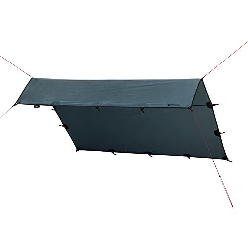 Qeedo Smart Tarp, kampeerzeil (3×3 m, 3×4 m, 3,2 x 2,8 m), tentzeil licht, waterdicht, robuust