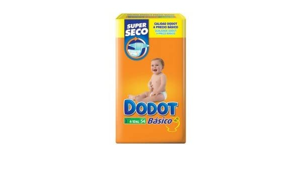 Dodot - DODOTT3 - Pañales Dodot Básico T3 54 uds: Amazon.es: Salud y cuidado personal