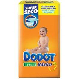 Dodot - DODOTT3 - Pañales Dodot Básico T3 54 uds