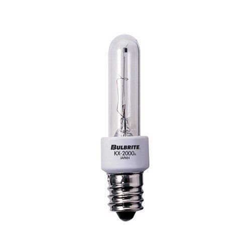 Bulbrite Incandescent Bulbs KX60CL/E12 60W KX2000 Krypton/Xenon T3 Clear Bulb ..(from#_zuperstore, ()