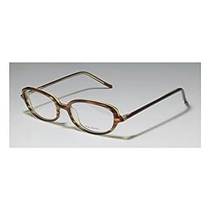 Vera Wang V40 Womens/Ladies Designer Full-rim Eyeglasses/Eye Glasses (49-17-133, Brown)