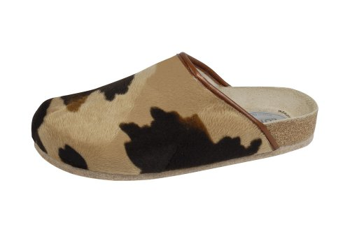 Weeger Unisex Adults' 48013 Open Back Slippers Brown (Muhkuh Muhkuh) VXmIT
