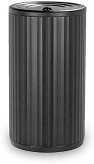 蓋付きのクリエイティブカー灰皿、多機能車の収納タンクは、ほとんどの車のカップホルダーに適してい (Color : 黒)