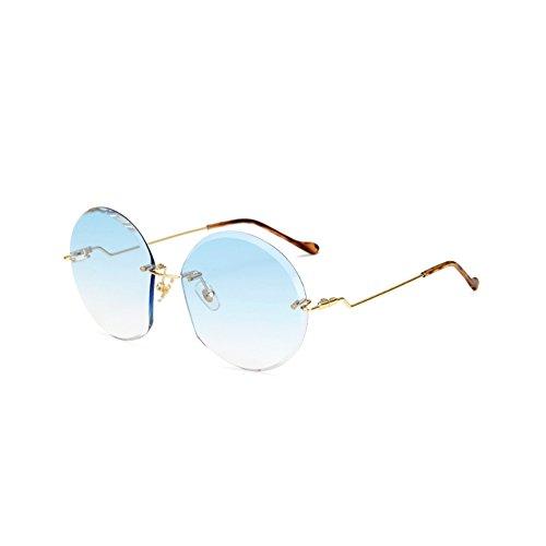 Uv vert Fashion Classiques Protection Soleil Style De Cm lunettes Neutre 145 Blue 59 Sunglasses Lunettes Demarkt Rayonnement 1pcs 59 qnXOw1xp