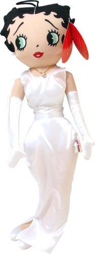 Betty Boop in White Dress 18-inch Plush