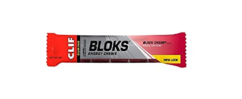 CLIF BLOKS Energy Chews - Black Cherry - (2.1 oz, 36 Count)