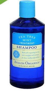 Avalon Organics Shampoo, Tea Tree Mint Treatment 14 fl oz (2 ()