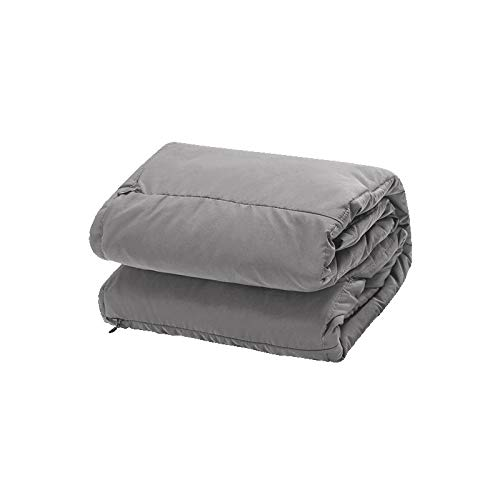 Price comparison product image Dako living Portable Super Fast Heating Blanket Battery Powered Electric Heated Blanket Body Warming Throw Blanket Couch Blanket Outdoor Blanket (Grey Without Battery)