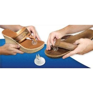 34ac169847fb3 Amazon.com  Silipos Sandal Flip-Flop Gel Toe Guards Cushions Thong  Protectors (1121) -Pair-  Beauty