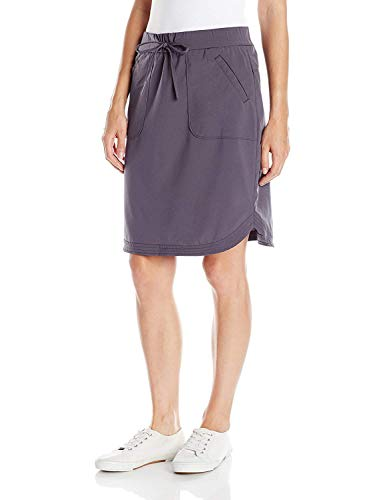 LEE Women's Active Performance Sierra Skirt, Iron, 16