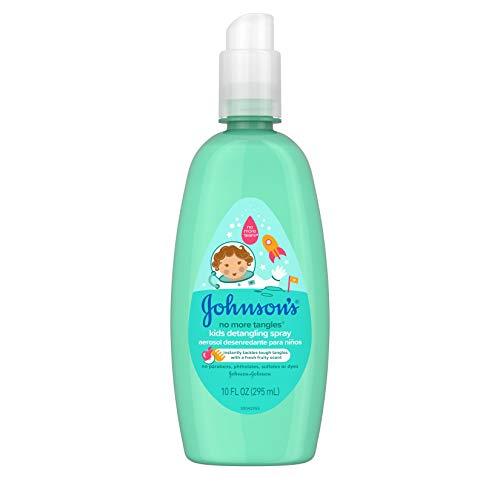 Johnson's Kids No More Tangles Tear & Paraben-Free Kids Detangling Spray, Fruity, 10 Fluid Ounce