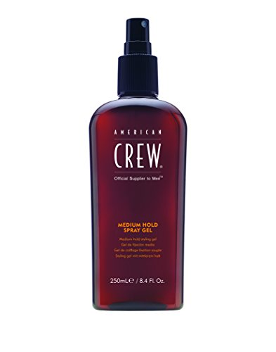 Gel for Men, Medium Hold 8.45fl oz (Hold Styling Spray)