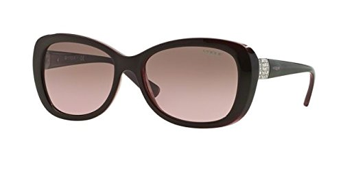 Vogue Eyewear Womens Sunglasses (VO2943) Brown/Brown Plastic - Non-Polarized - - Glasses Women Vogue