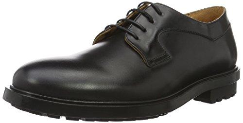 amp; PAUL Noir Noir Veau Homme JOE Indian Abrasivato Lacées Chaussures BrwzdxBq6