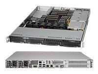 Supermicro SuperServer 6017R-WRF - no CPU - Monitor : none. (SYS-6017R-WRF) -