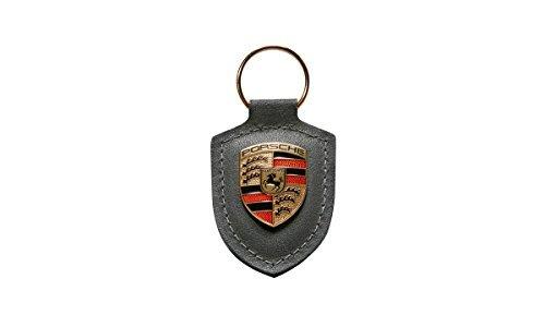 Porsche Key Crest (Porsche Grey Crest Key Tag Ring)