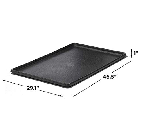 Pet Dog Crate Replacement Pan 48 Inch Plastic Liner Repl Tray Floor Cage Kennel Get 1 Pcs