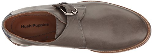 Hush Men's Puppies Strap Parkview Gray Ardent Monk Leather Loafers xpg6qaSw