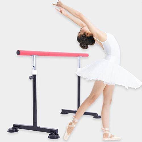 バレエバー バレエスタンド バレエ ダンス用バー バレエバレバー、ダンスバー、大人子供世帯レッグプレスバー - 自立、モバイル、調節可能なポータブル、高さ Ballet Barre bar
