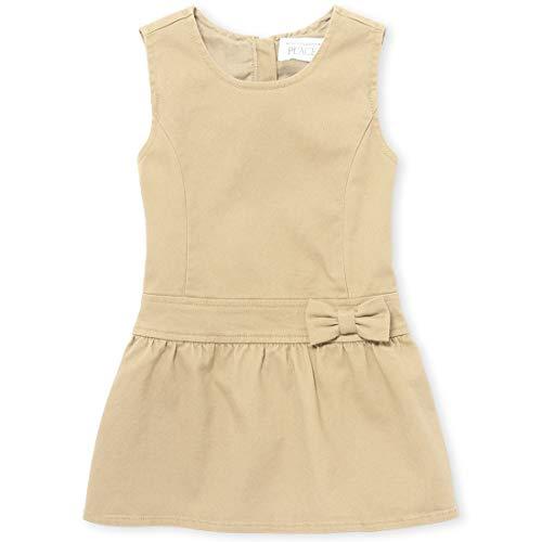 (The Children's Place Girls' Toddler Uniform Jumper, Sandy, 3T )