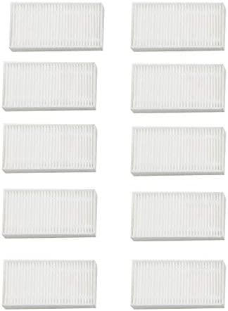 N / A Yooria Pack of 10 HEPA Filters For Lefant T700 M501-A/M501-B/M520 Robot Vacuum Cleaner