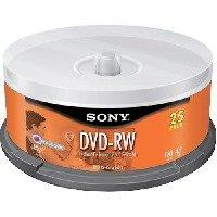 Disc DVD-RW 4.7GB 25/PK Spindle 2X