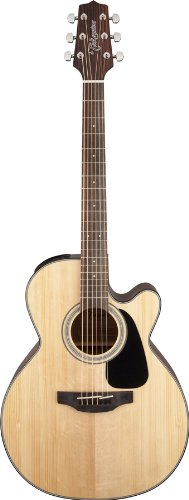 Takamine GN30CE-NAT Nex Cutaway Acoustic-Electric Guitar, Natural