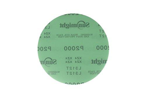 "Sunmight 22108 2-3//4/"" x 45YD 120 Grit PSA Film Sanding Sheet Roll"