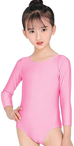 c64ab9af5 Speerise Kids Long Sleeve Ballet Dance Leotard Dancewear for Child ...