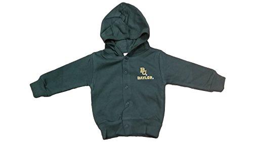 Baylor Bears NCAA Newborn Hooded Sweatshirt Snap Jacket (3-6 Months)