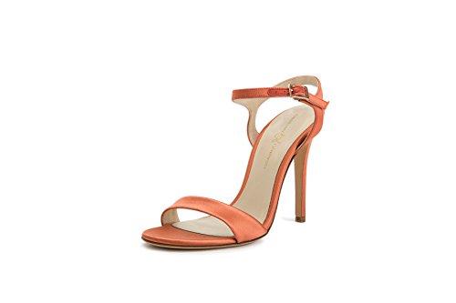 Sandalo Con Tacco Alto Da Donna Christina Lombardi - Il Brevetto Heidi Giallo Crocco