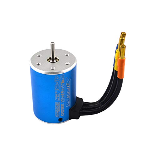 - Fullfun Motore 3650 3100KV Brushless Motor ESC for RC Car 1:10 Parts