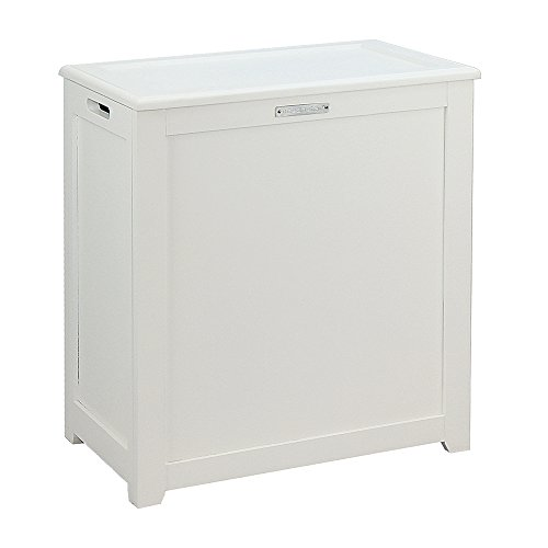 Oceanstar Storage, White Laundry Hamper, (White Hamper)