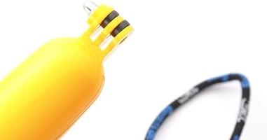 Set para GoPro que incluye mango amarillo flotante para ...